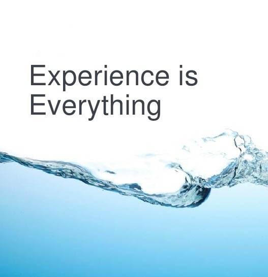 Erfarenhet är allt