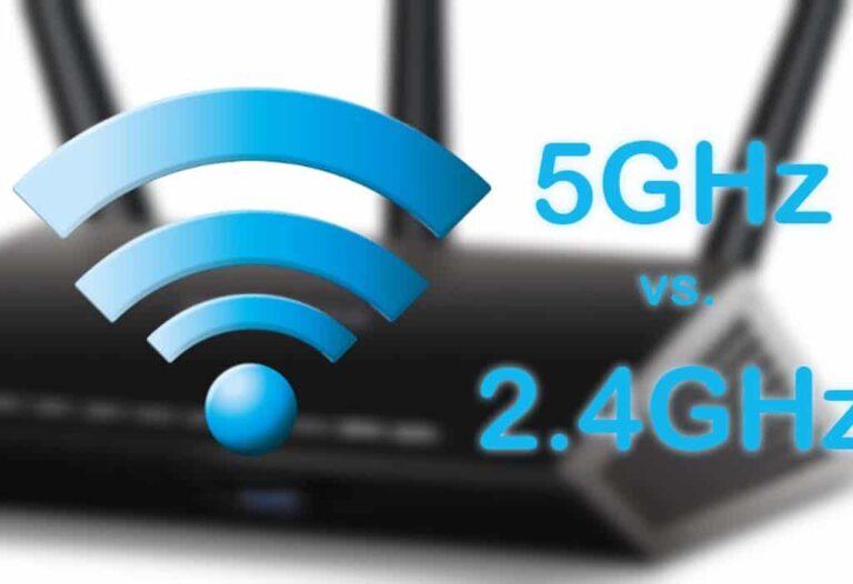 5 GHz vs. 2.4 GHz