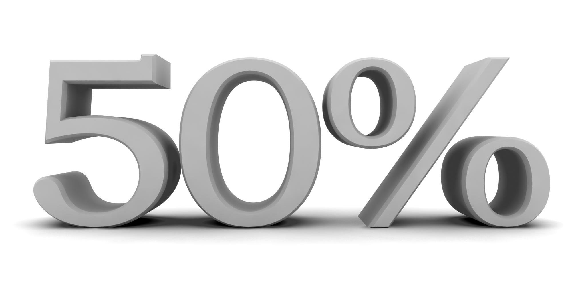 50% Rut-avdrag