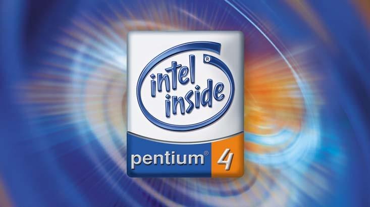 Intel Pentium 4 logo