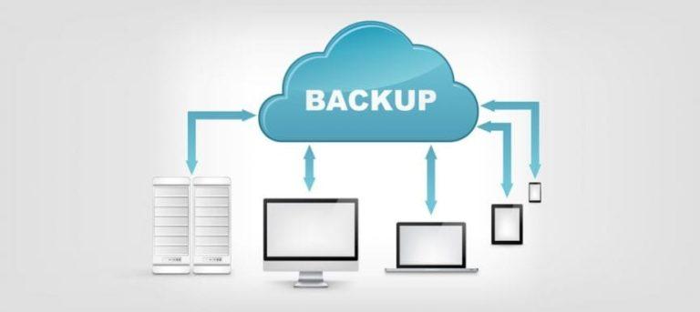 Molnbaserad lagring backup